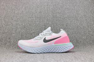 408585cf9660 Womens Nike Odyssey React Pure Platinum Hydrogen Blue Pink Beam Black  AQ0070 007 Running Shoes