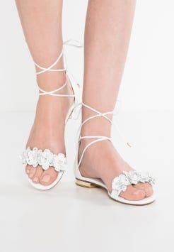 3b327a802ba chaussure mariée plate Dune London - NIGELLA - Sandales - white ...