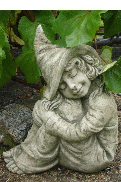 Gartendeko Figuren, gartendeko figur skulptur kleine elfe hazel pheeberts by fiona scott, Design ideen