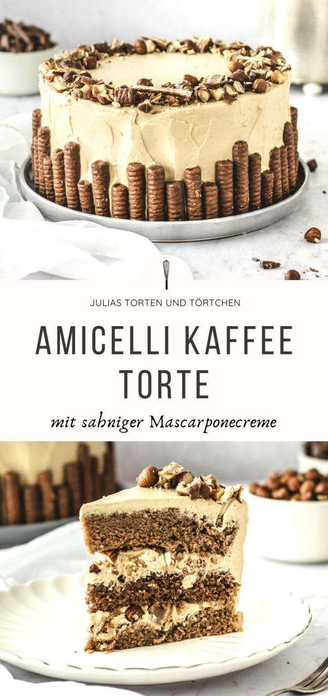AMICELLI KAFFEE TORTE mit Mascarponecreme