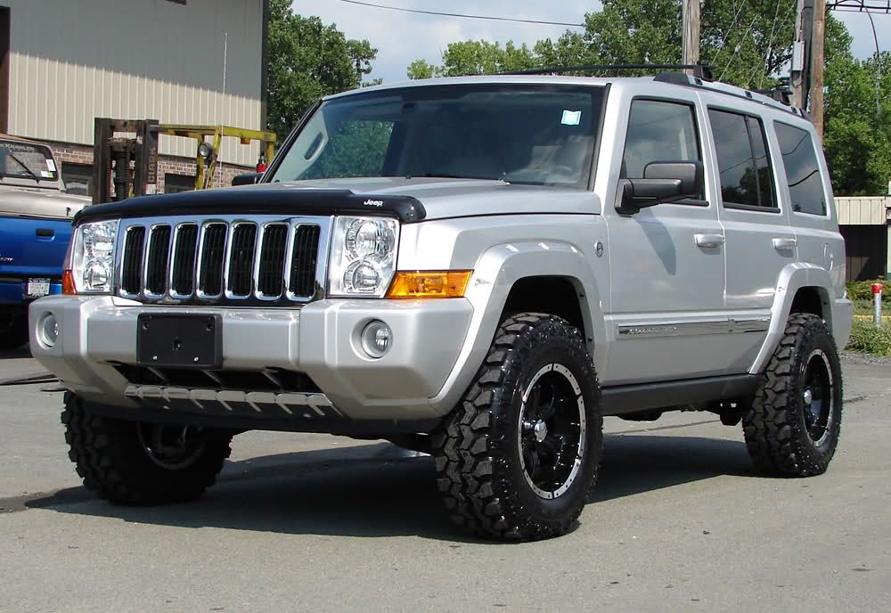 What Size Are These Wheels Tires Jeep Commander Forums Jeep