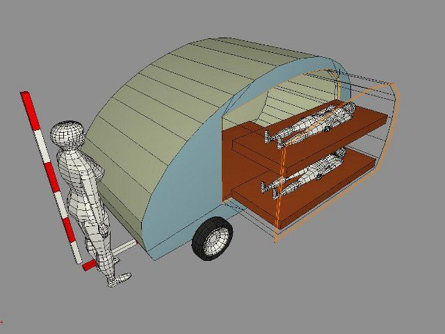 Teardrop With Bunk Beds Rv Ideas Pinterest Remolque Camping
