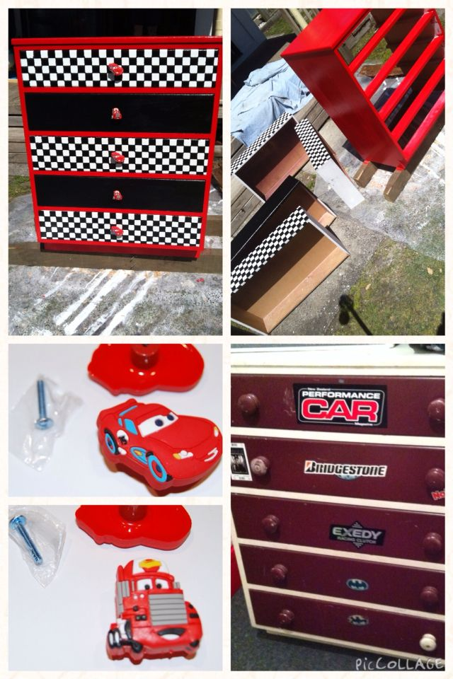 Outstanding Cars Themed Lightening Mcqueen Drawers Kids Diy Cars Download Free Architecture Designs Momecebritishbridgeorg