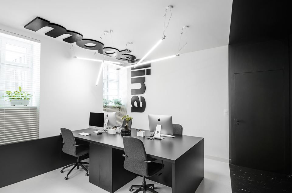 Studio with a Modern Design Born From