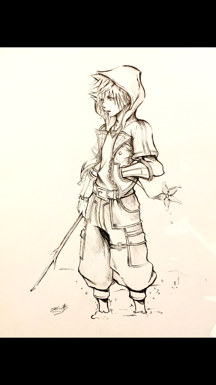 Kingdom Hearts Iii Art Sora Master Of Friendship This Is