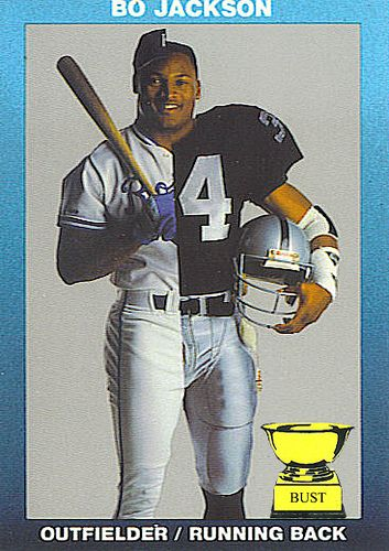 Bo Jackson 1990 Special Edition Sports Bo Jackson Nfl Football