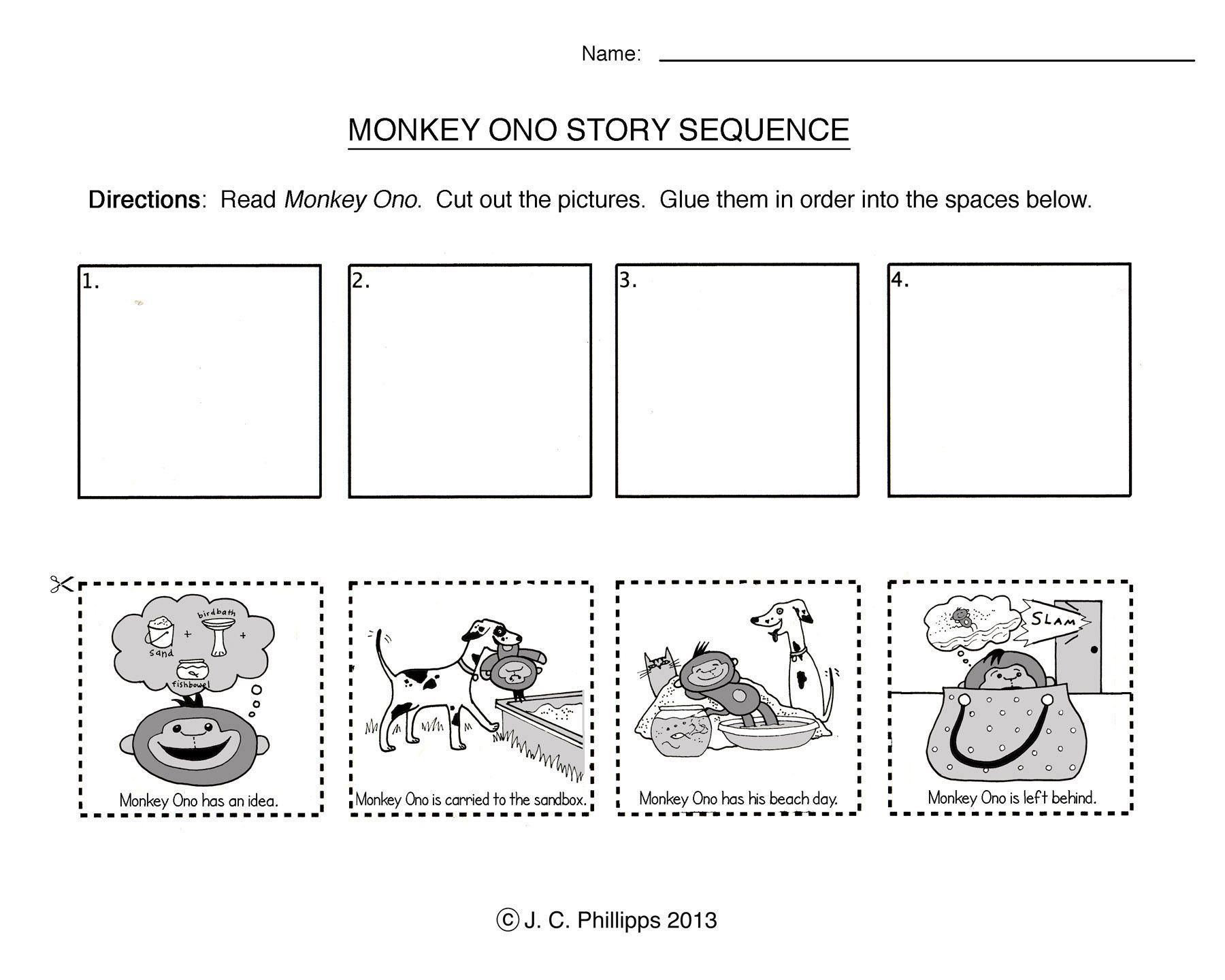 Story Sequencing Worksheets For Kindergarten