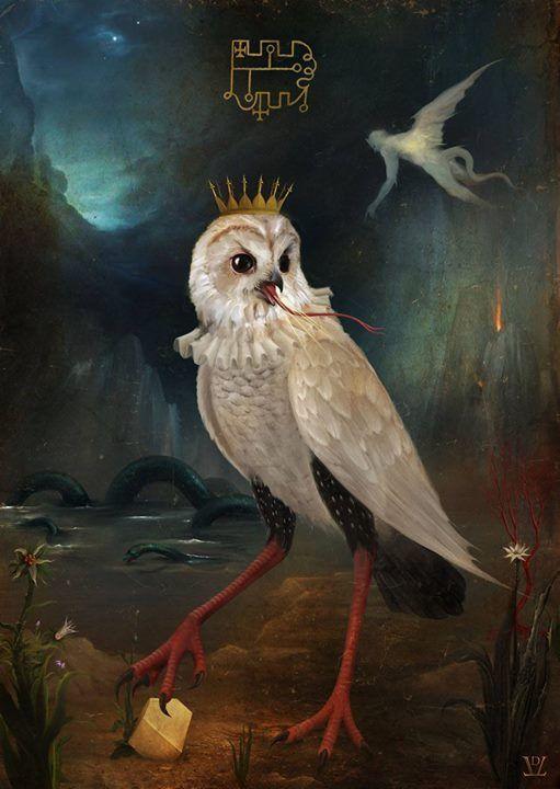 Изображения демонов Гоэтии и мифологических существ в ...