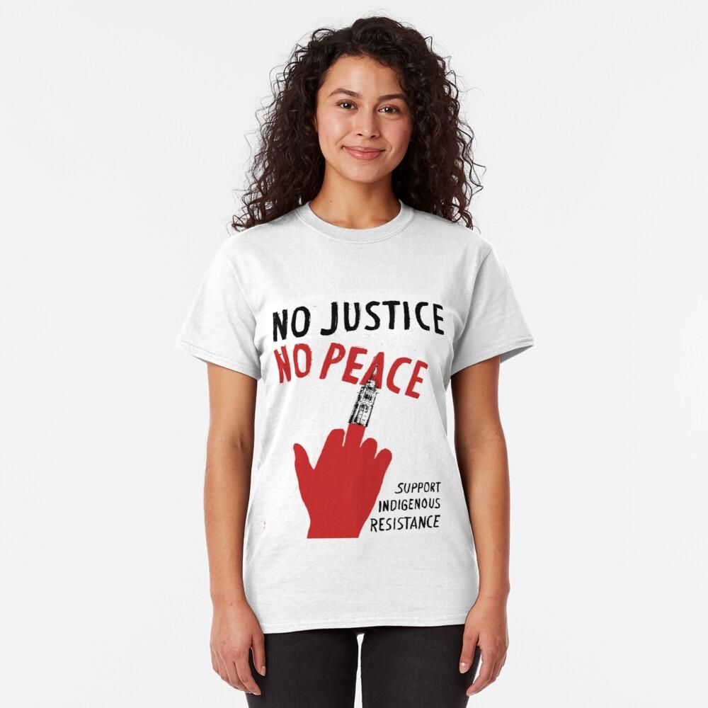 No Justice No Peace 4 T Shirt By Malakouais Redbubble T Shirt Shirts Fashion