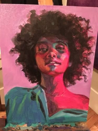 Feb 6, 2020 - Paintings by Allison Rockwell-