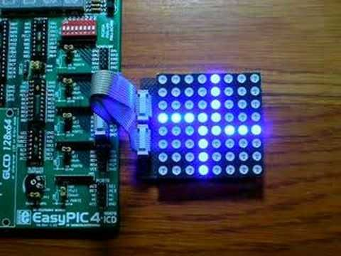 8x8 LED MATRIX DANCE | LED Matrix