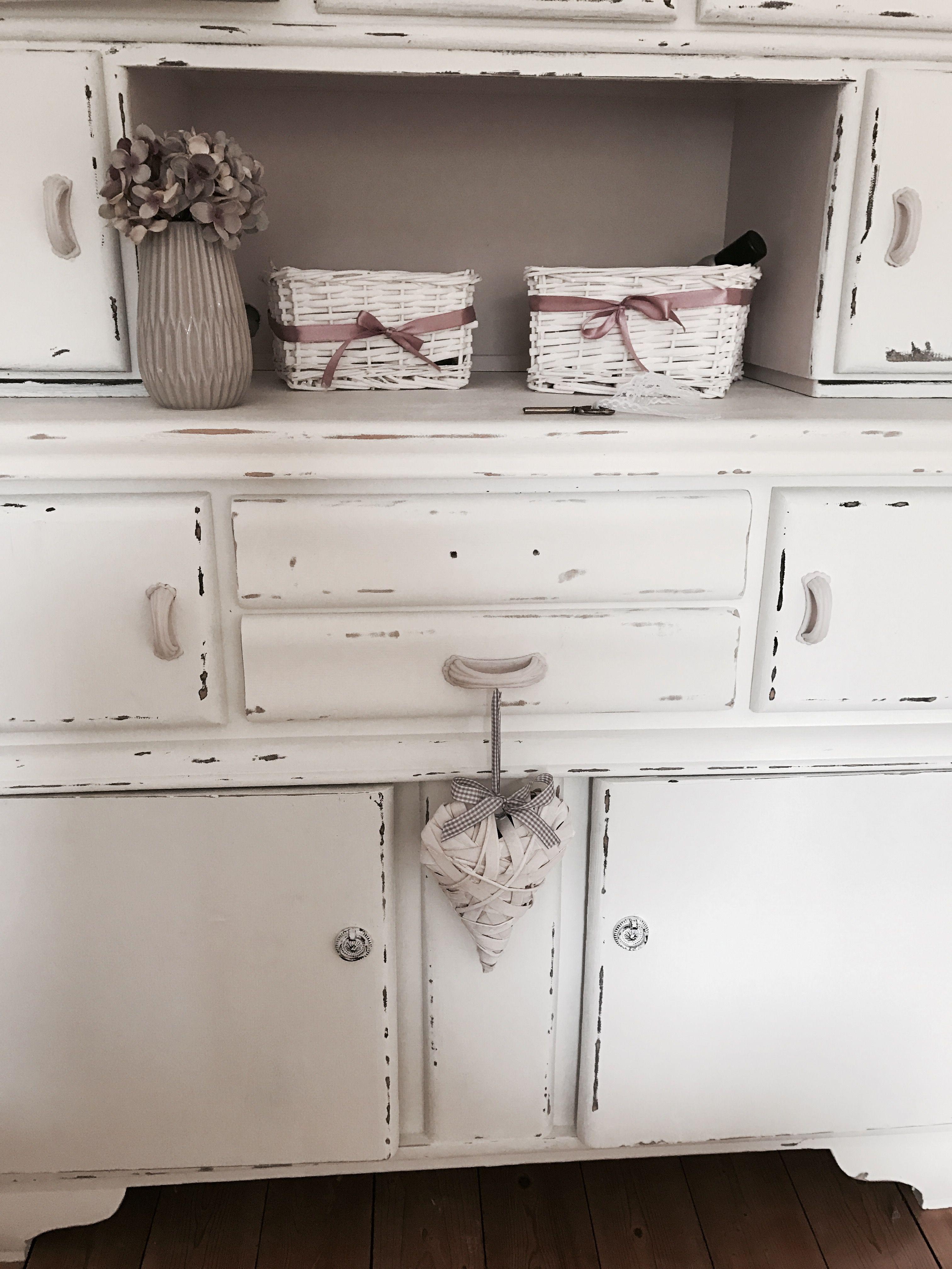 Küchenbuffet 👵🏻 Küchenschrank restaurieren ♡ Annie Sloan Chalk ...