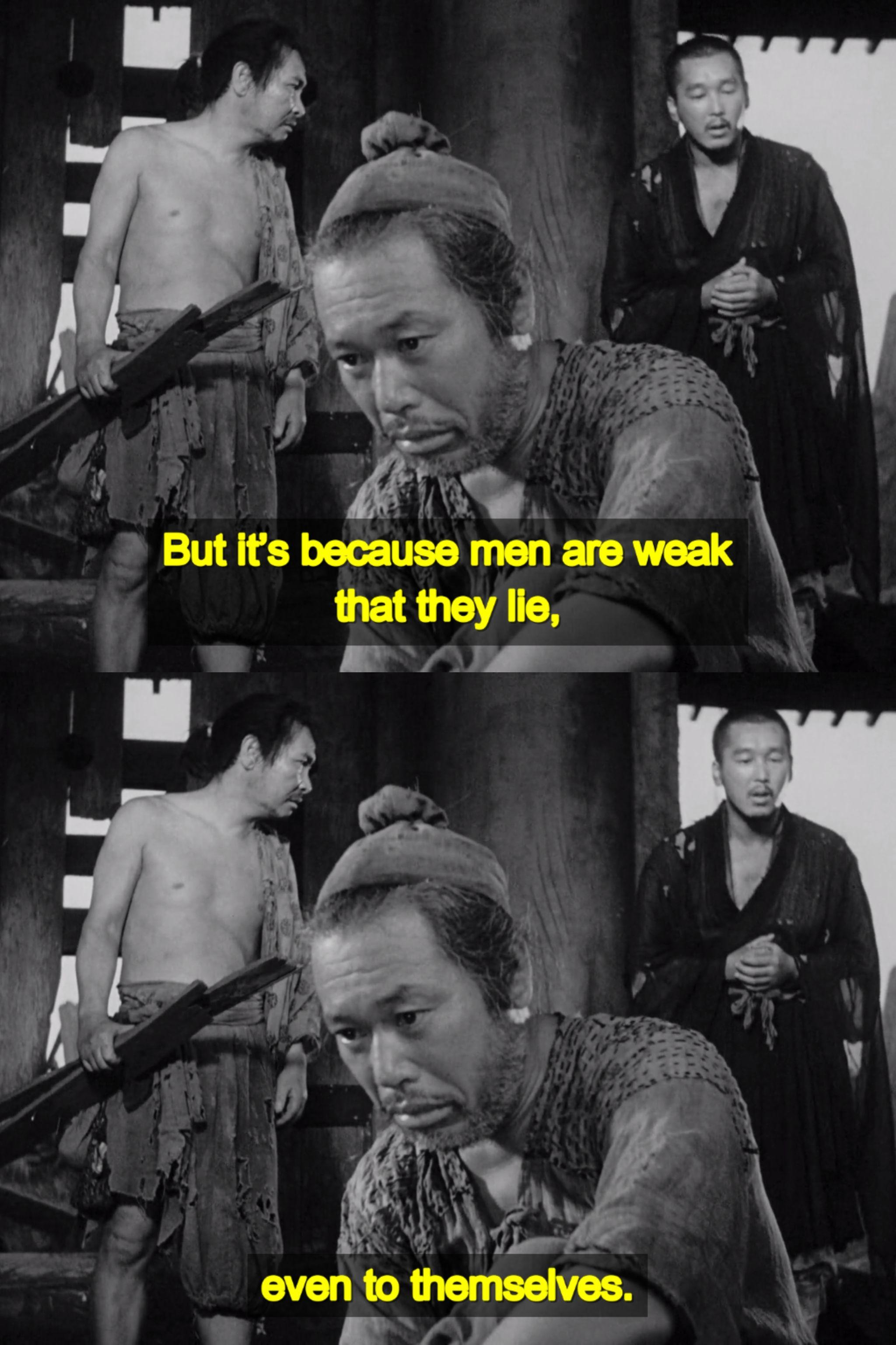 Rashomon 1950 By Akira Kurosawa Cinema Movies Tv Series Quotes Foreign Film