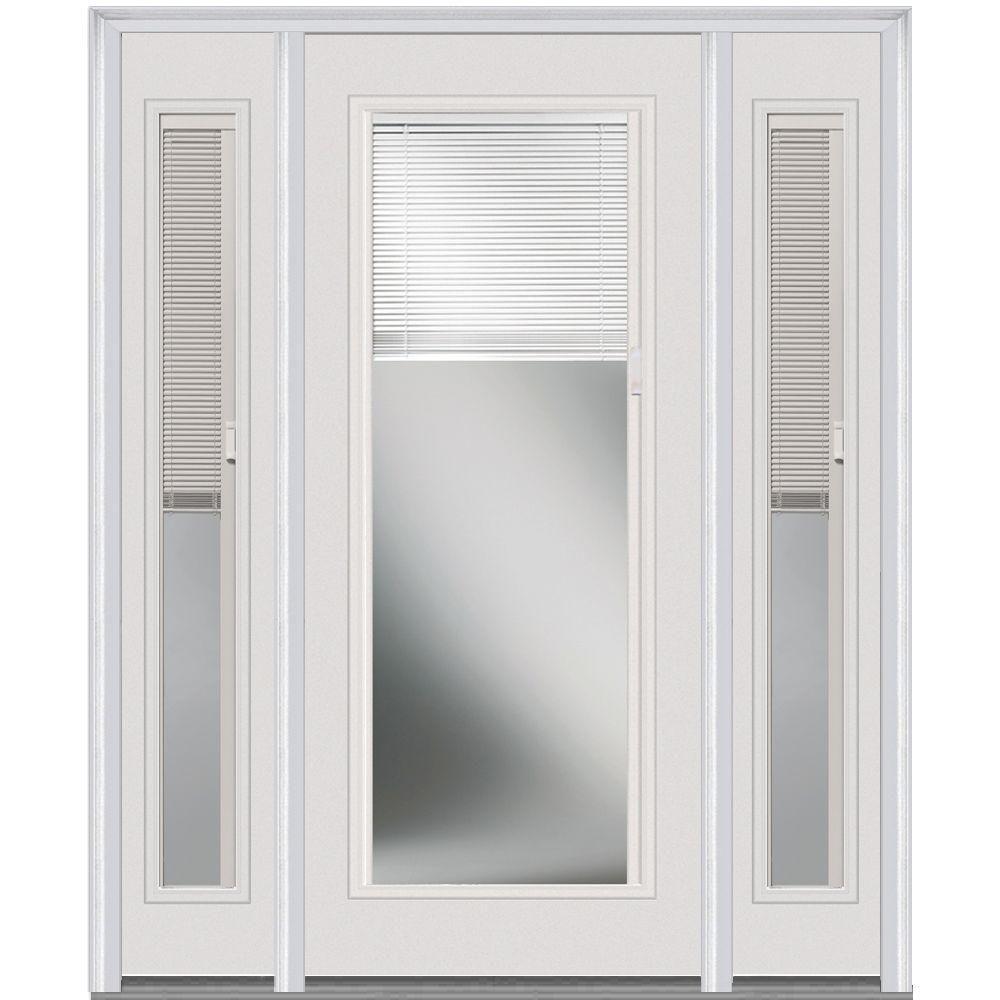 Milliken millwork in x in internal blinds lefthand full