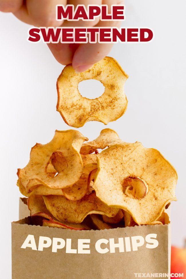 How to Make Apple Chips - Texanerin Baking #applechips