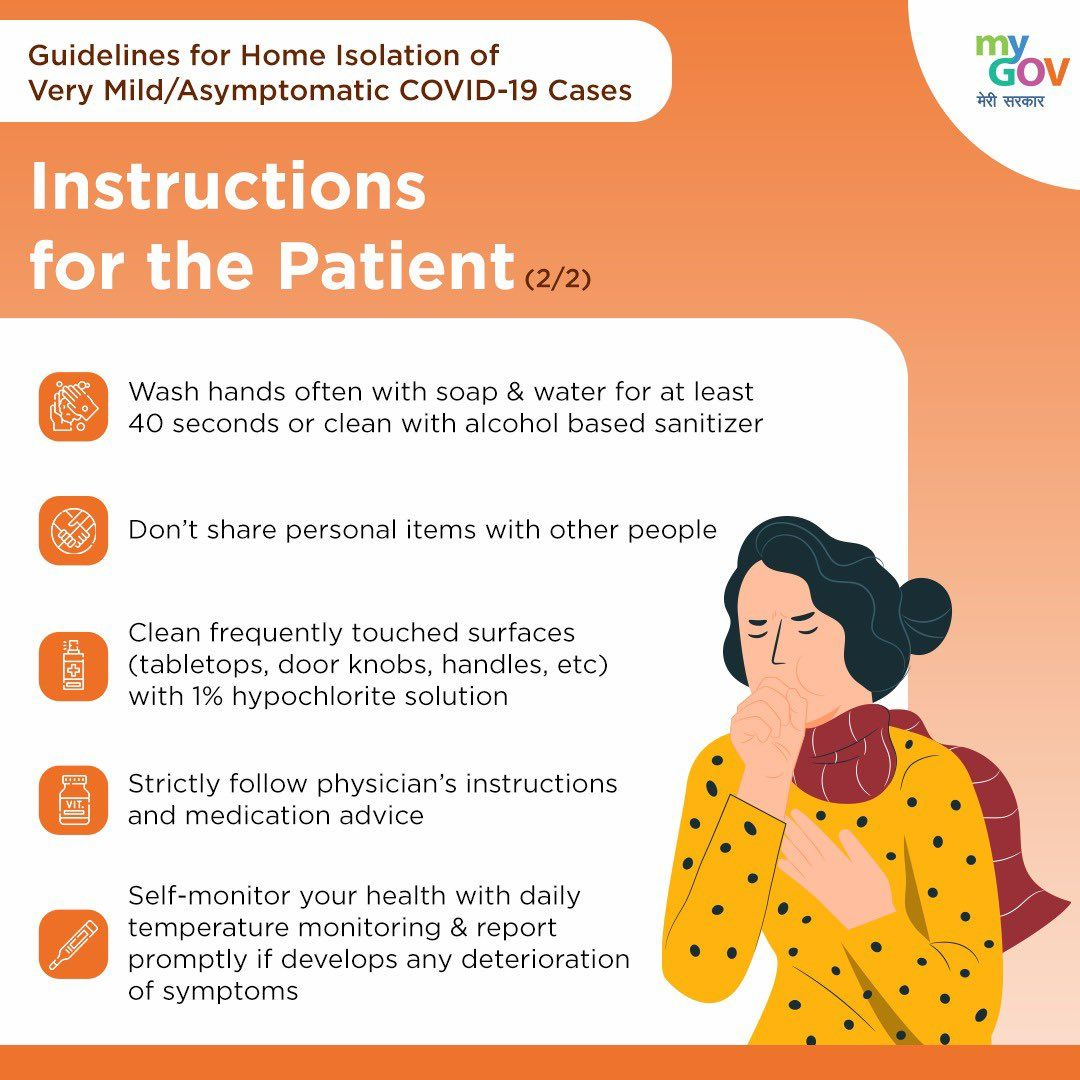 Instructions For The Patient How To Stay Healthy Awareness Poster Hand Washing Poster