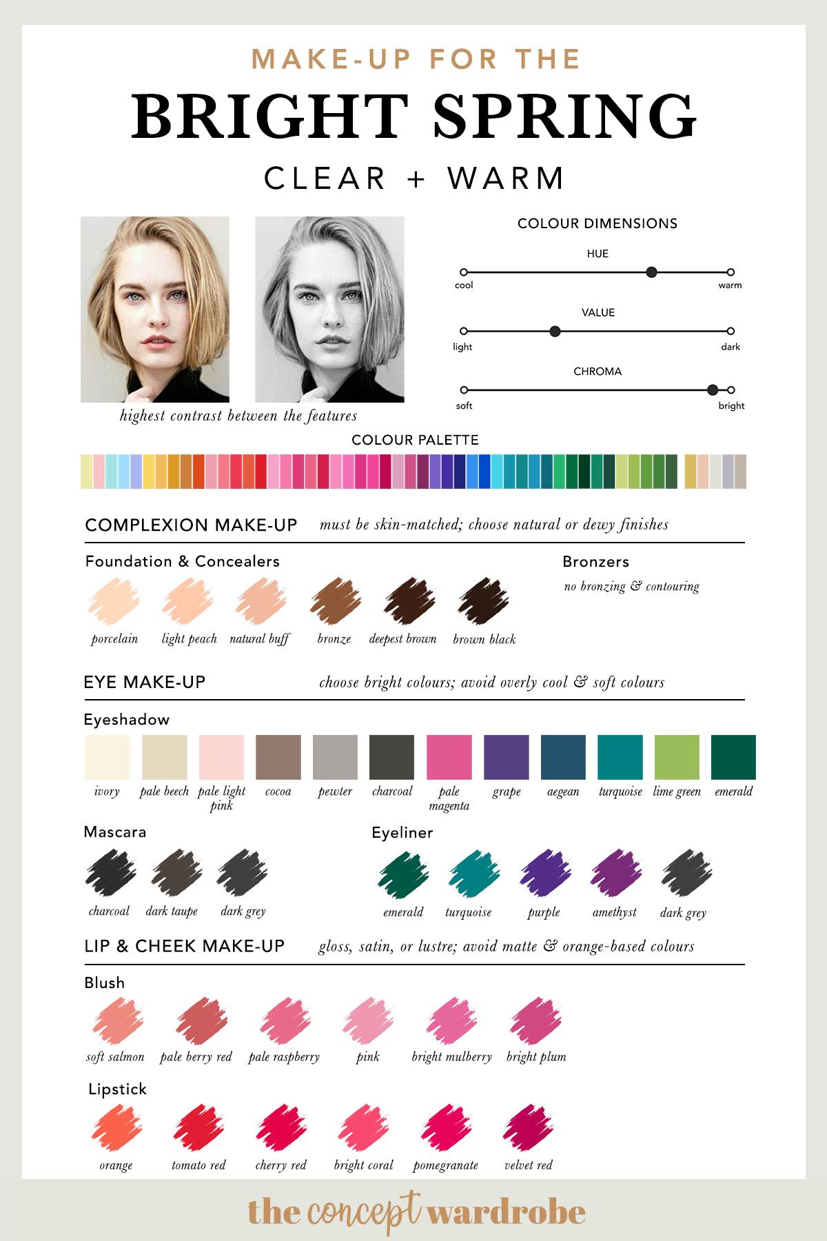 BRIGHT SPRING   Make-up Palette