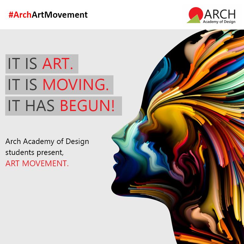 A Design Movement Has Begun Arch Academy Of Design Presents Art Movements An Innovative Design Activity Whe Art Movement Innovation Design Design Movements