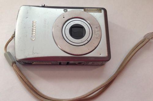 Canon Powershot Digital Camera Elph Sd630 Digital Ixus 65 6 0 Mp Camera Silver Canon Powershot Powershot Ebay