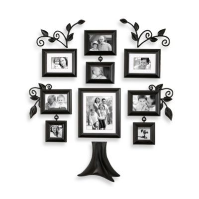 Buy Wall Verbs Family Tree 12 Piece Family Tree Collection From Bed Bath Beyond With Images Family Tree Photo Frame