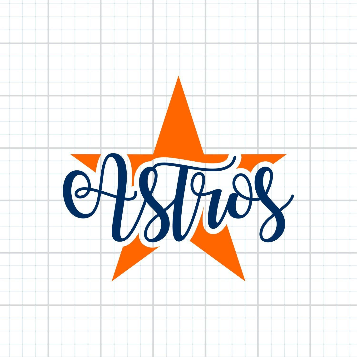 Houston Astros Svg Astros Svg Baseball Svg Svg File