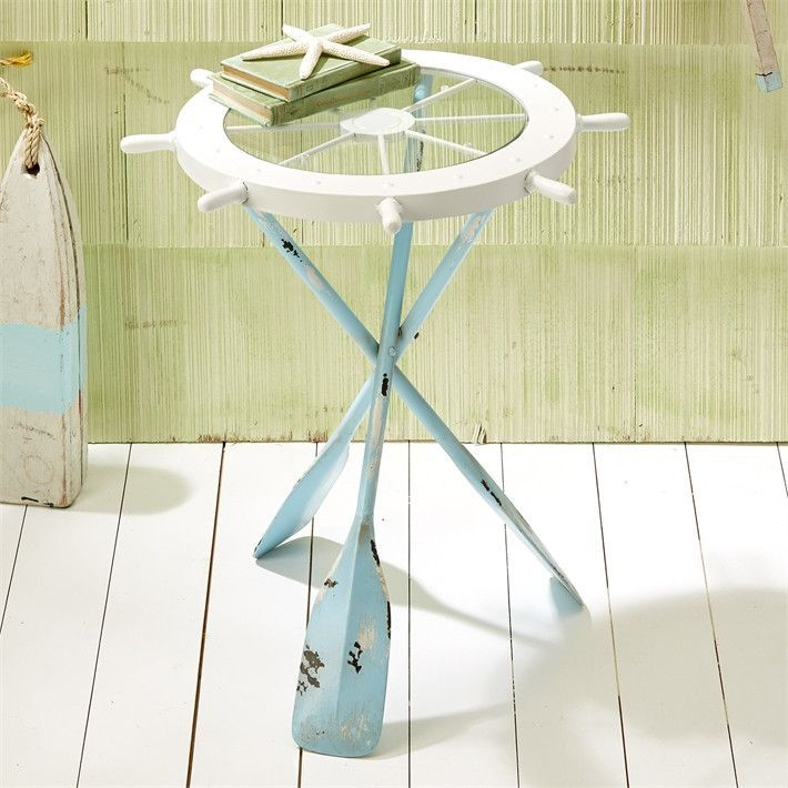 A wonderful and functional accent piece for your beach house or ...