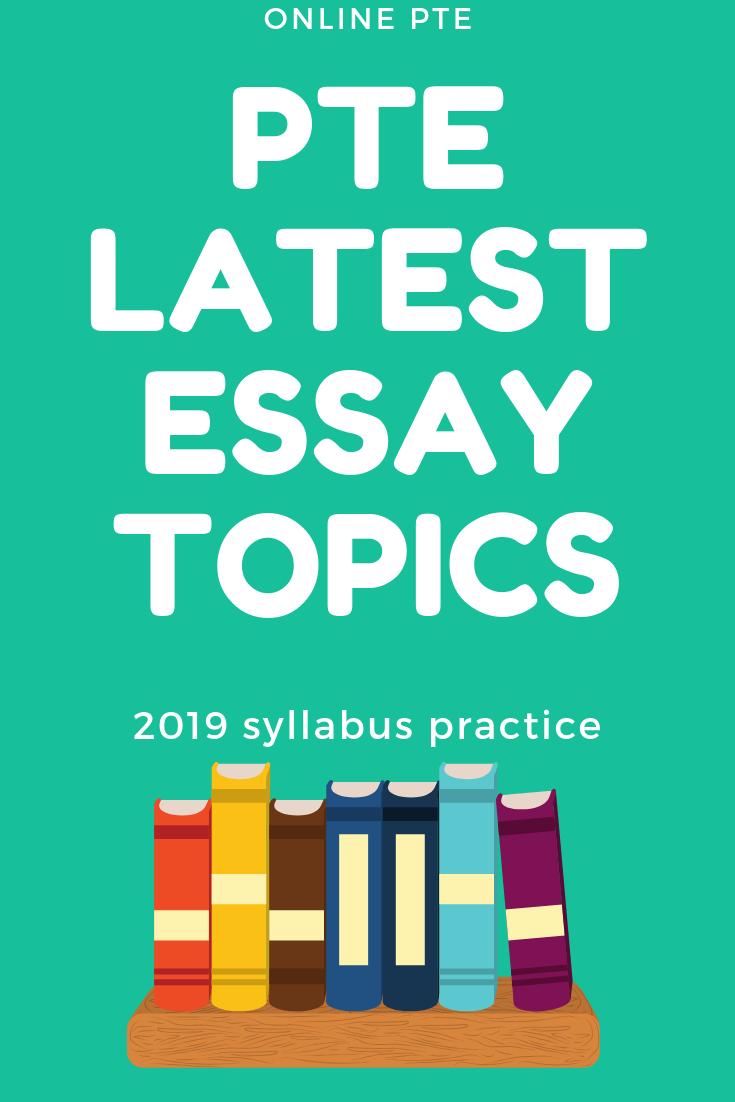 Current topic essay