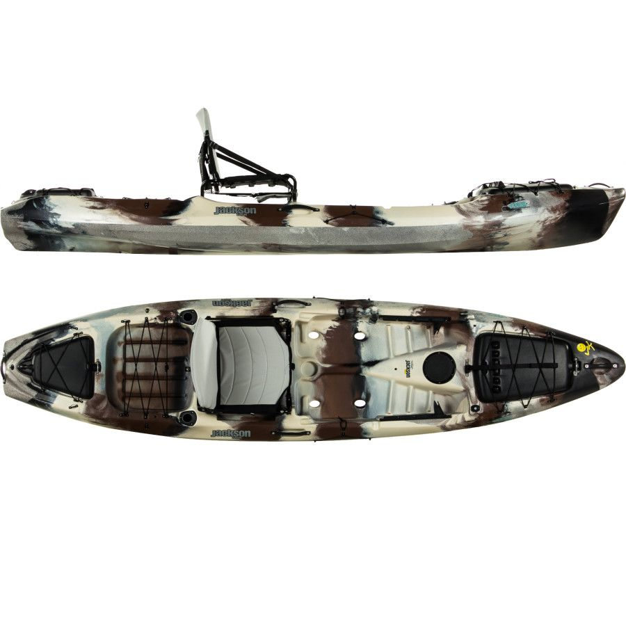 Jackson coosa elite fishing kayak by drew gregory crazy for Fishing jackson kayak