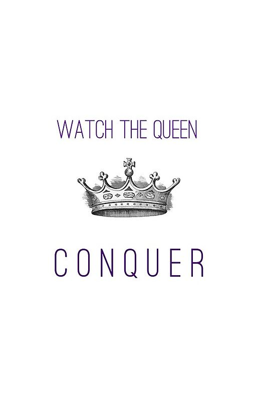 Watch The Queen Conquer iPhone Case & Cover by darkandbright