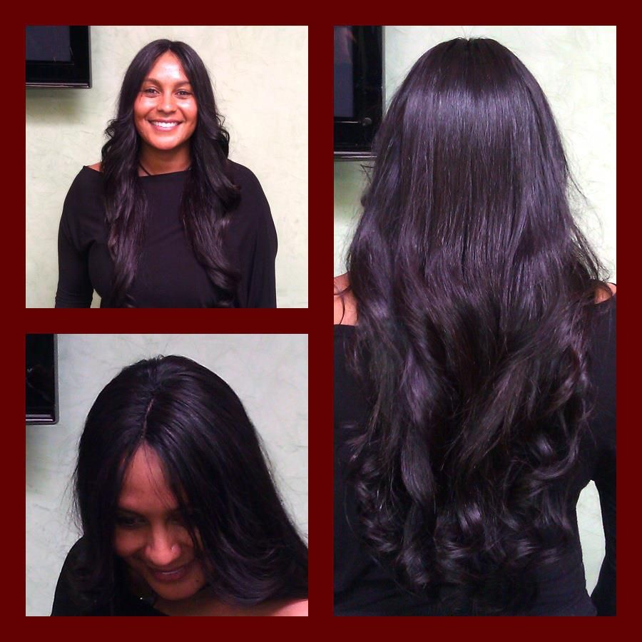 Dreamgirls Full Head Weave With The Illusional Part Dghair