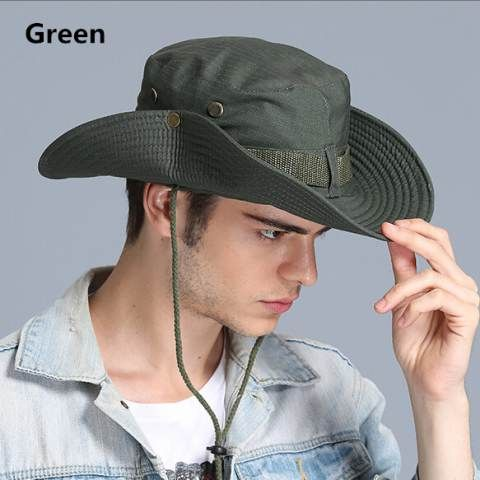 145c644ed55 Outdoor bucket hat for men UV package fishing sun hats