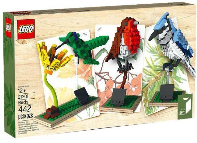 LEGO 21301 Vogels