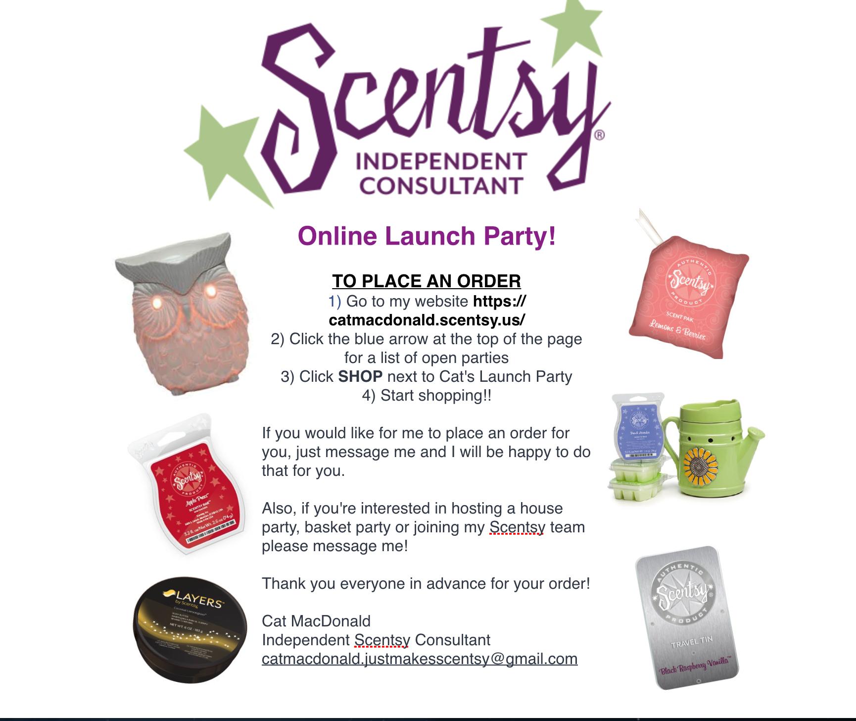 Scentsy Launch Party Invitation Wording | Invitationjpg.com