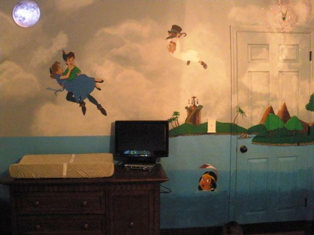 My Son S Peter Pan Nursery The Pregnant Community