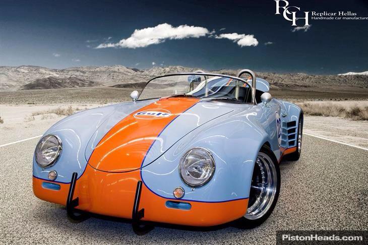 356 wide body speedster porsche pinterest autos for Garajes de ensueno