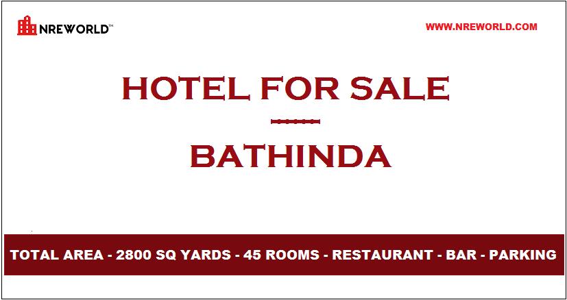 #Hotel 45 Rooms for Sale in Bathinda - Punjab - India.  For Further more details kindly Email us at - nreworld@nreworld.com  Visit our website - www.nreworld.com  #hotelforsale #Bathinda #Punjab #Realestateinvestment #commercial #nreworld #hotelsale #hotelinvestment #hotels