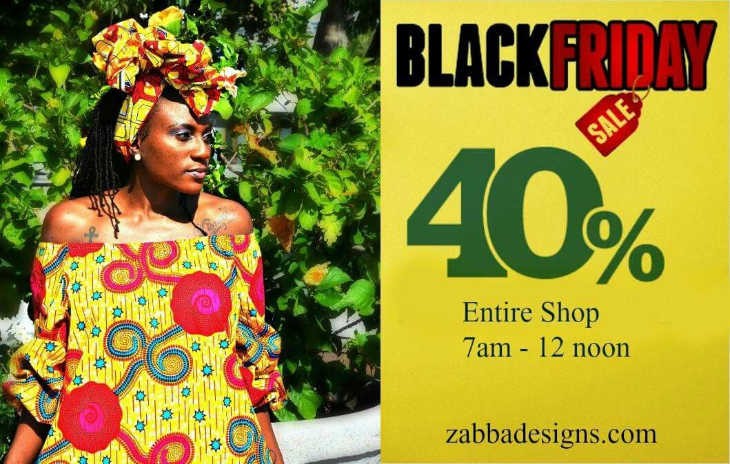 """GET READY """" BLACK FRIDAY SALE """" ❤ . . Shop now!  Zabbadesigns.com . . . #blackfriday #blackfriday2016 #buyblack #blackownedbusinesses #africandress"""