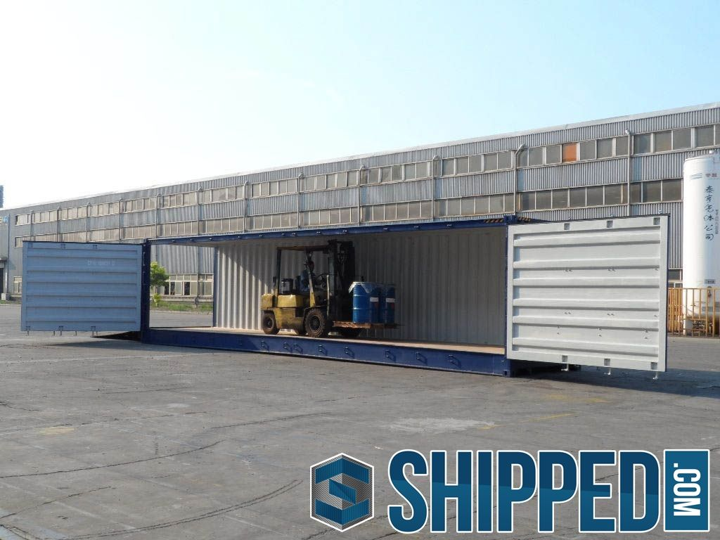40ft high cube open side | shipped | the ebay of shipping