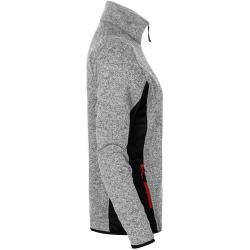 Photo of Knit jacket workwear women, gray-melange PromodoroPromodoro