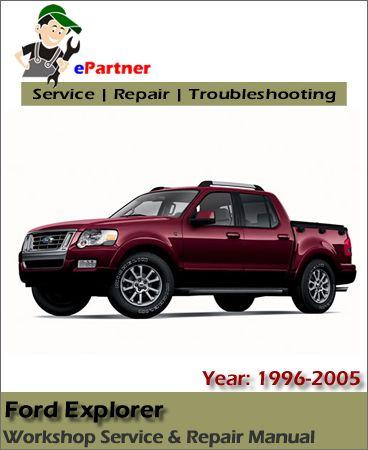 download ford explorer service repair manual 1996 2005 ford rh pinterest co uk 1996 Explorer MPG 1996 Explorer Engine