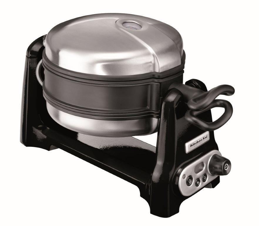 Kitchenaid artisan waffle baker onyx black kitchenaid