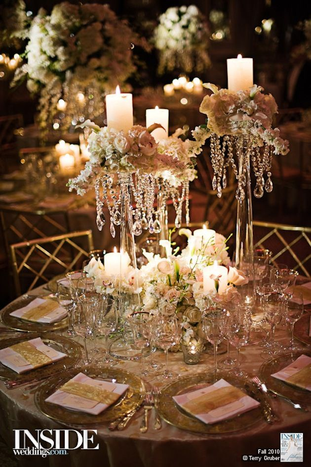 Captivating Ways To Incorporate Candles Wedding Table