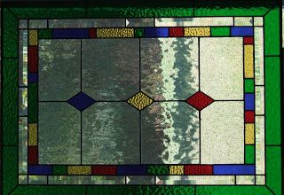 Vintage Style Stained Glass - Baltimore