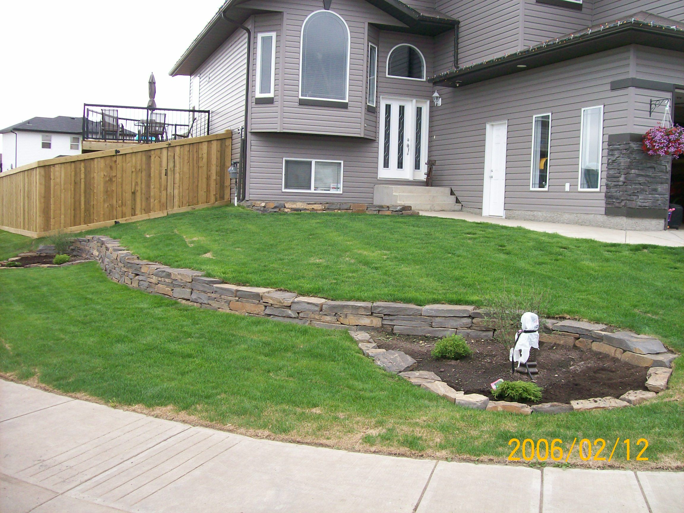 My favourite part of landscaping was always building