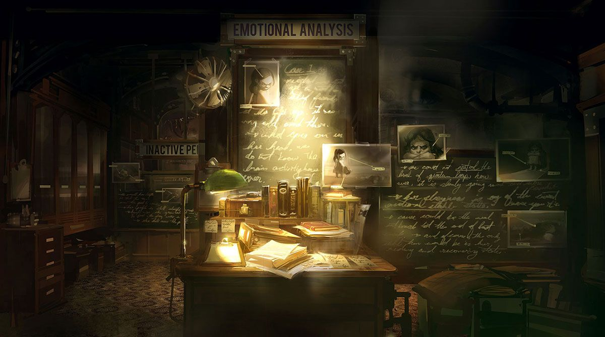 Office Study Concept Art World Infinite Art Concept Art