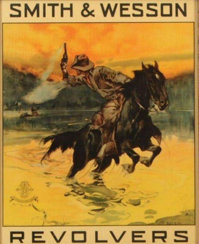 Smith & Wesson | Western art | Pinterest