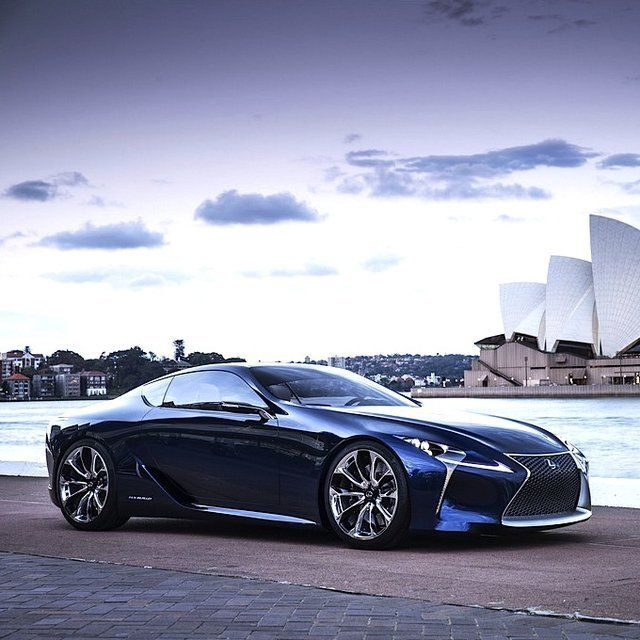 Lexus Lf Lc Sports Car Could Be Made Will It Be A Hybrid: 2012 Lexus LF-LC Blue Concept