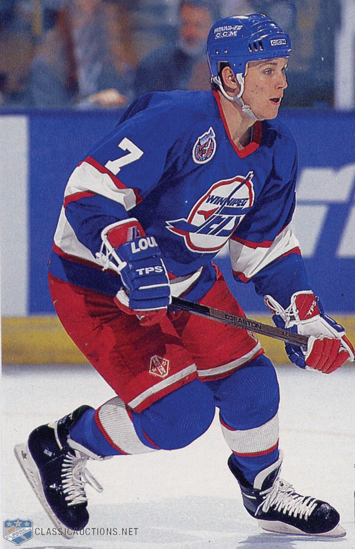 Keith Tkachuk (Jets de Winnipeg) Hockey players, Nhl