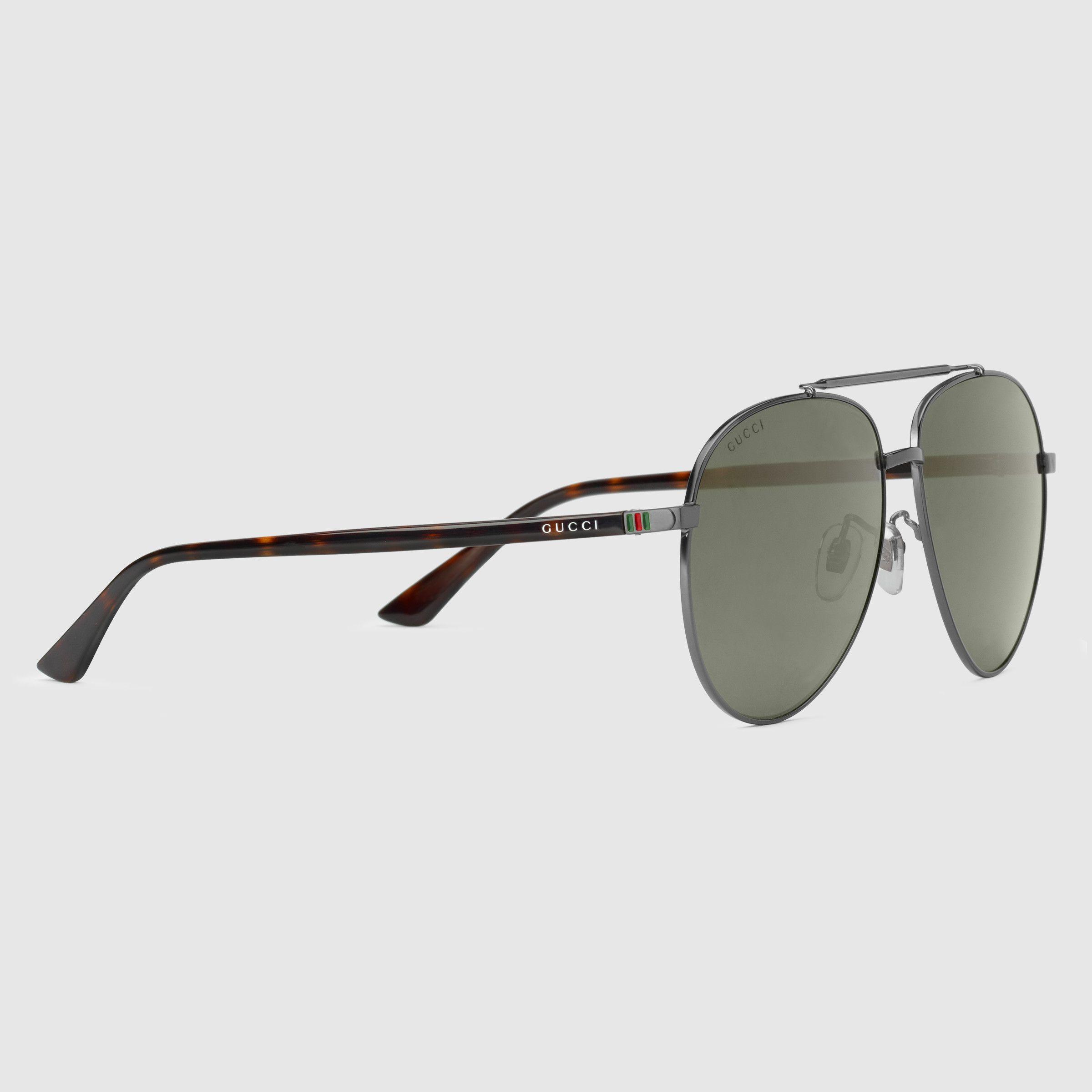 Gucci Aviator sunglasses Detail 2 | Eyewear 1 | Pinterest