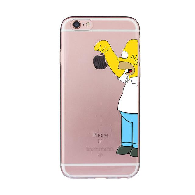 cover iphone se homer